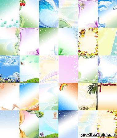 Зимние фоны для фотошопа winter backgrounds